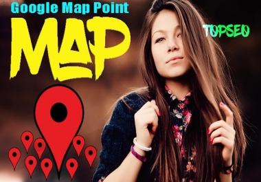 USA 1600 google point map citation with high da citations for local SEO
