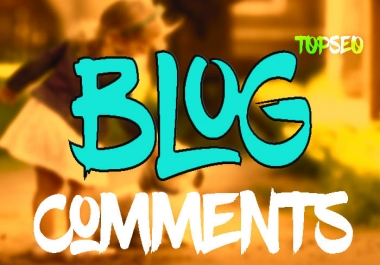 Manual 100 Niche relevant Google blog comments backlinks