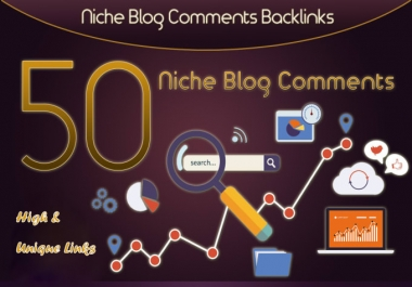 I will do 50 niche relevant dofollow backlinks