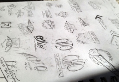 I'll turn Your Sketch to Vector Logo in 24 Hrs - Vector trace sketches or Redesign logo