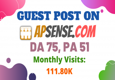 Publish Guest Post On High DA75 Business Networking Blog Apsense.com