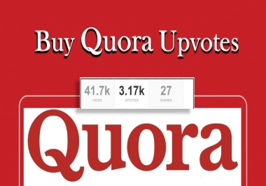 Buy 25 Worldwide Quora Upvotes