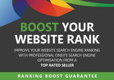 I will search engine optimize SEO your website
