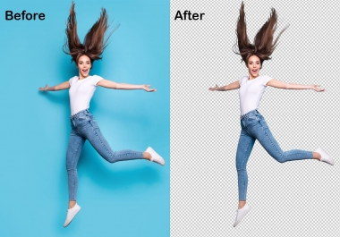 Background removal service 5 images