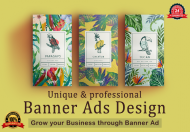 I will design affiliate web banner ads for google adwords magazine & email banner ads