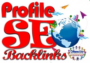 Create 150+ DOFOLLOW High PR1-PR7+ or High DA 40+ Authorized Google Dominating Profile BACKLINKS