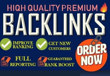 1000 + Do follow backlinks High DA PA do follow backlinks