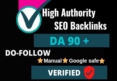 Do follow backlinks DA 90+ Verified High Quality Links