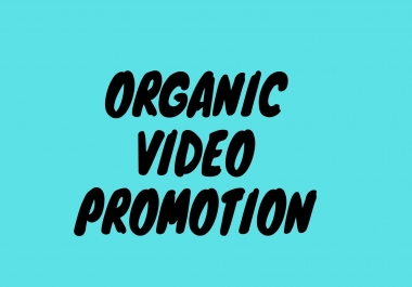 Video and channel Promotion with Real Users