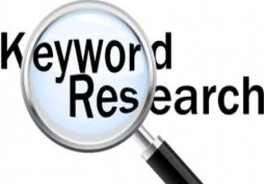 I will Run keyword research for SEO ranking