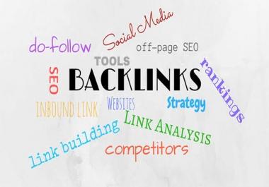 I will generate 1700 dofollow backlinks for google ranking