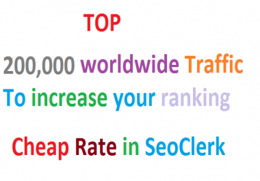 SKYROCKET Real 200,000 Worldwide Website Unlimited Traffic from Search engine Google Ranking Factors