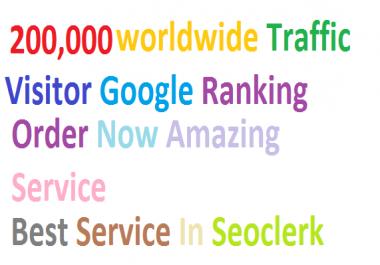 Top & Best Service 200,000 Worldwide Targeted Traffic Facebook,YouTube,Instagram,LinkedIn,twitter