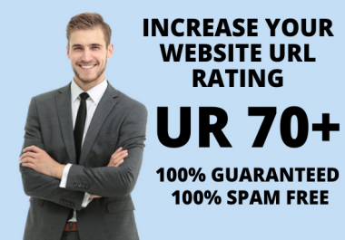 I will increase your website Ahrefs URL Rating UR 70+ _ Guaranteed