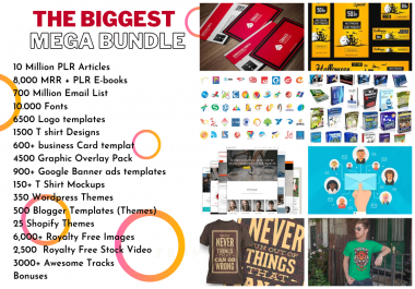 I Will Give You Awesome Digital Products Bundle