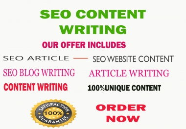 write 1000+ word a unique article writing in English for your website