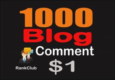 Create 1,000 Blog Comments Backlinks