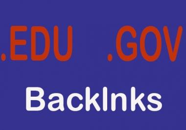 create 50+ edu gov redirect dofollow backlinks with high pr