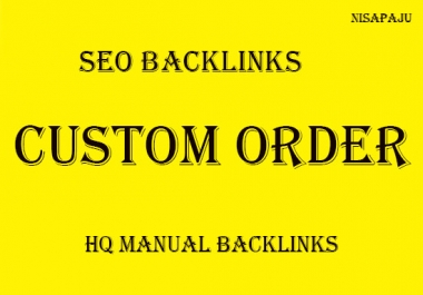 Create any kind of dofollow backlinks with high PR and high DA
