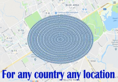 Create 1500 google point map citation for any local seo