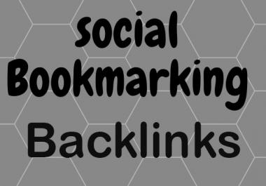 Create manually 50 social bookmarking backlinks