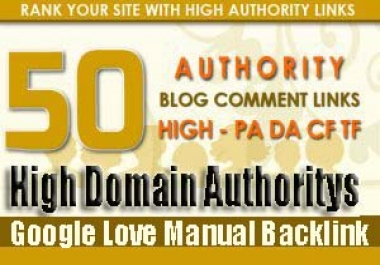 I will provide 50 blog comment dofollow backlink seo