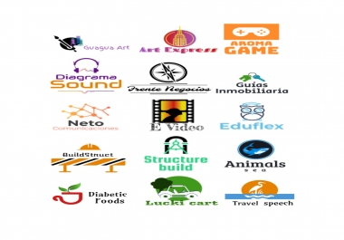 Make a logo design for web site according to your needs (Low Resolution)
