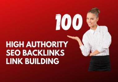 100 high authority USA SEO backlinks, link building