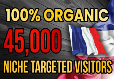 I will drive real France targeted web traffic 20K VISITORS