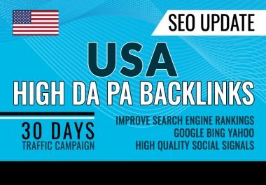 Drive real SEO google organic targeted USA web traffic (30K visitors)