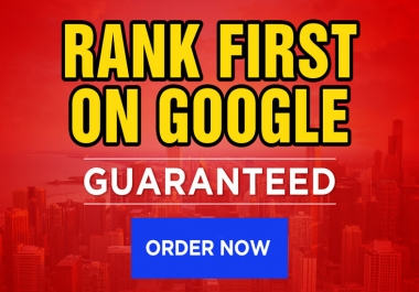 Rank your website first page of google (Off-Page SEO)