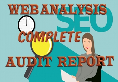 I will provide complete Website Audit + SEO Score Research