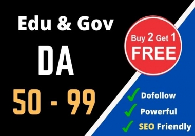 I Will Create 20 Dofollow Edu and Gov Backlinks
