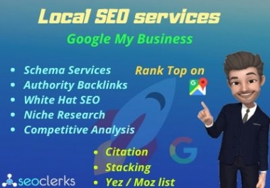 I will rank you top on Google My Business by Local SEO