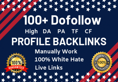 We will Create 100 Backlinks from High Domain Authority For Increasing Your Google ranking