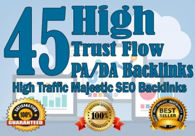 Create 45 DA/PA High Domain Backlink For Rank A Website On Google