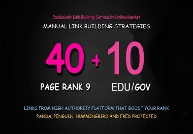 Do DA80+All 40+10 EDU/GOV High Domain Backlink For Rank On Google