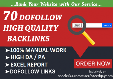 I will make 70 High Quality Do Follow Blog Comments