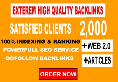 create Profile 2,000 contextual tiered backlinks for SEO Top ranking