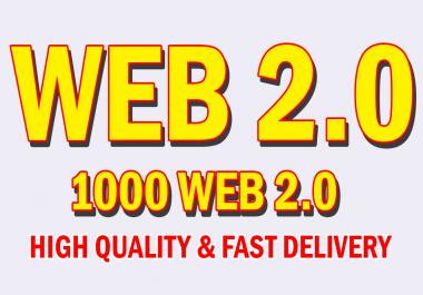 Create 1000 web2.0 Profile Backlinks Manually High Rank Your Website on Google