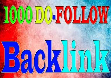 i Will DO 1000+ Do-Follow Backlink For Local Business SEO