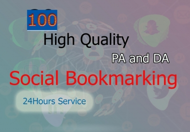 I will do 60 Social Bookmarking in high DA and PA site manually for top Google Ranking Your Website