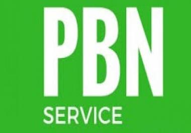 Build 50 PBN DA 25+ Homepage Backlinks