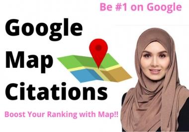 100 google map citations for local seo