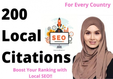 200 local citations directories for local business seo