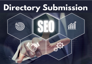 Manually 100 Directory Submission Backlinks from High Authority Website