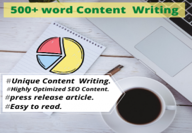 500+ Word Content Writing Service any Topic