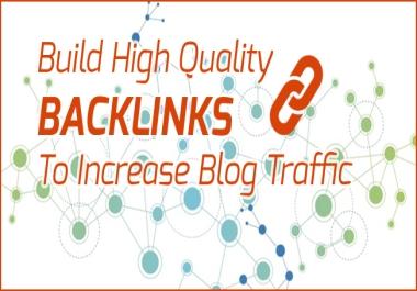 400 Premium Blogging + profiling + Bookmarking+ PDF + EDU links your site