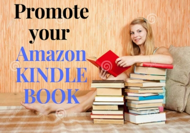 Do kindle book, amazon book, ebook promotion to increase book sales