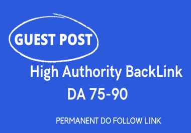 I will Publish 4 Guest Post on High Authority Website with Content